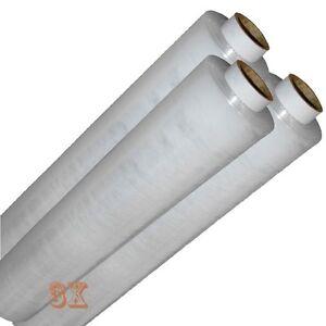 3X-Rolls-CLEAR-PALLET-STANDER-STRETCH-SHRINK-WRAP-17Mu-400mm-WIDE-LENGTH-250M