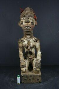 Afican-NKISI-Fetish-Figure-BACONGO-D-R-Congo-TRIBAL-ART-PRIMITIF