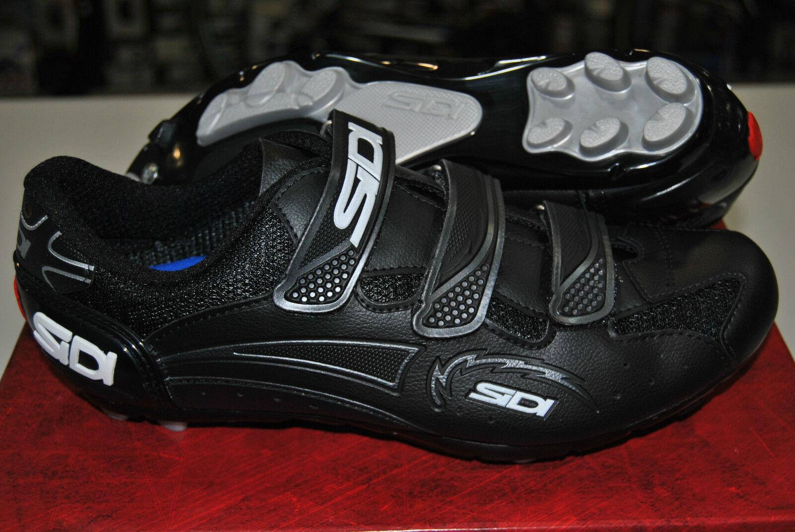 Zapatillas MTB Sidi Giau Negro   Negro   zapatos MTB Sidi Giau Negro   Negro