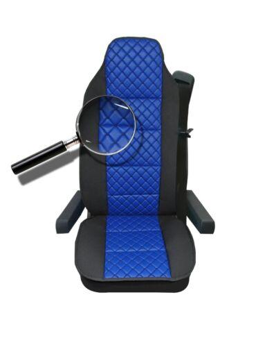 Axor Atego Sitzauflage LKW-Sitz Sitzbezug blau Actros Antos Arocs Atron