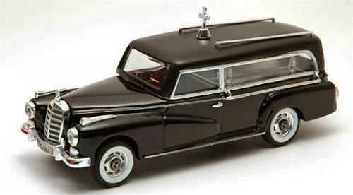 Mercedes 300 300 300 D Carro Funebre 1960 1 43 Rio4137 Model Diecast 622b6f
