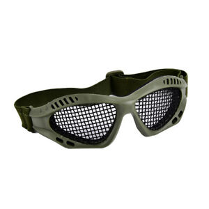 Outdoor-Paintball-Goggle-Hunting-Airsoft-Metal-Mesh-Glasses-Eye-Protecti-FU-BH