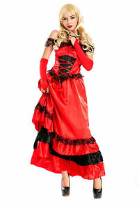 97fc887b49 La imagen se está cargando Espanol-Senorita-Fancy-Dress-Damas-Salvaje-Oeste -Nacional-