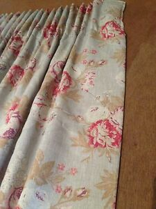 Cabbages Amp Roses Quot Tulips Amp Roses Quot Interlined Curtains Made