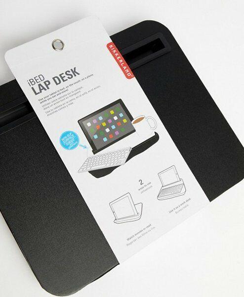 Soporte para Tableta Color Negro Kikkerland iBed