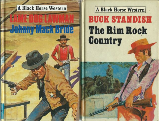 2 Black Horse Western: Johnny Mack Bride & Buck Standish (Lame Dog & Rim Rock)
