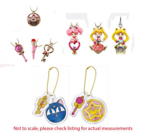 Sailor Moon Little Charm Keychain Twinkle Dolly Strap Ichiban Kuji Reflector