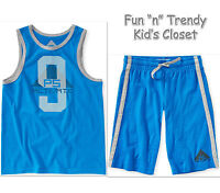 Ps Aeropostale Kids Boys Size 7 Or 8 Knit Shorts & Tank Top Shirt 2-pc Set
