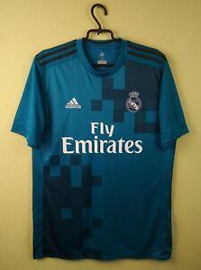 4571ffd25 Real Madrid third jersey 17 18 3rd adidas MEDIUM shirt soccer ...