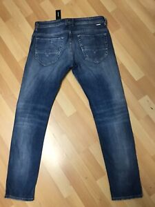 NWD-da-Uomo-DIESEL-thommer-Soft-Stretch-Denim-Blu-084QP-SLIM-W30-L32-H6-RRP-150