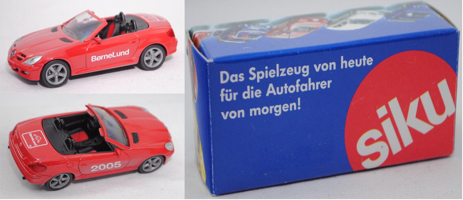 Siku súper 1002 Mercedes-Benz SLK 350 børnelund, werbemodell limitado aprox. 1 55
