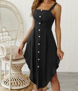 Women-039-s-Beach-Dress-Long-Summer-Evening-Party-Casual-Boho-Maxi-Cocktail-Sundress