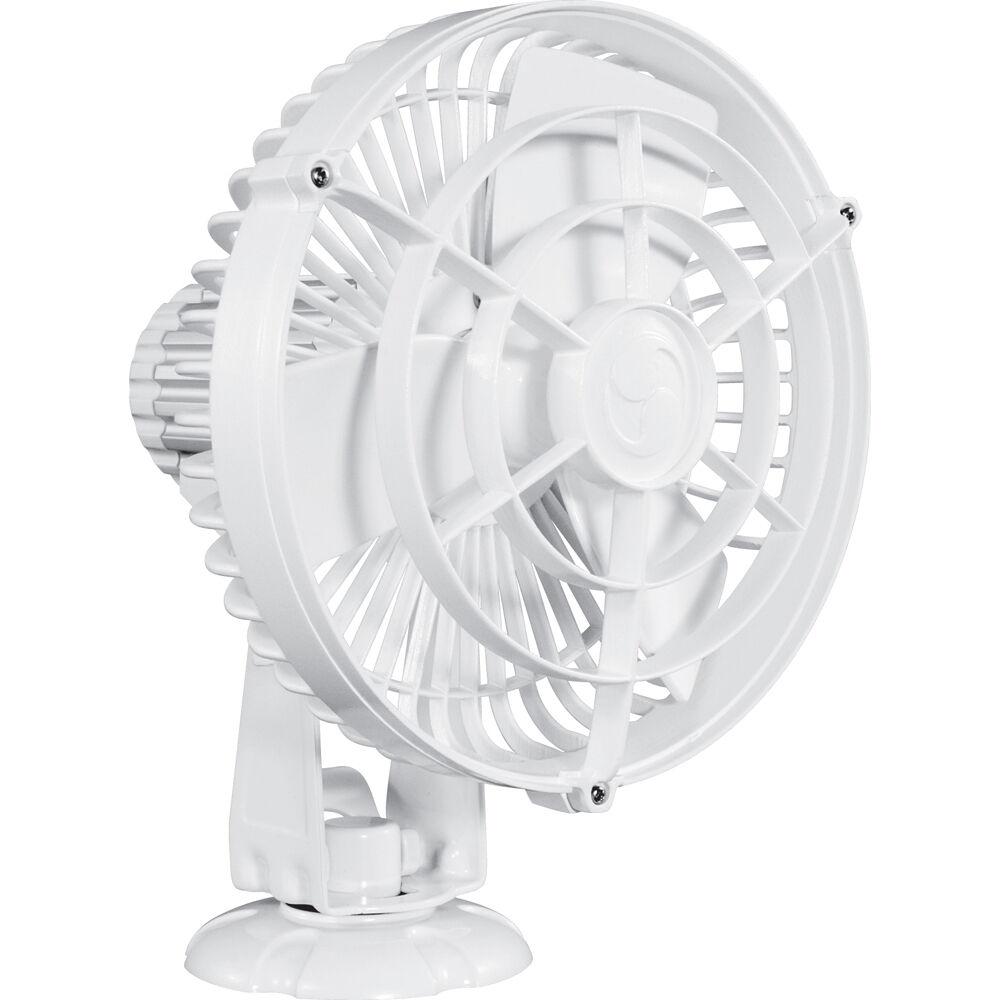 Caframo Kona 817 12 V de 3 velocidades 7   ventilador resistente a la intemperie-blancoo