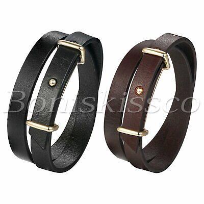 Surfer Leather Strap Bracelet