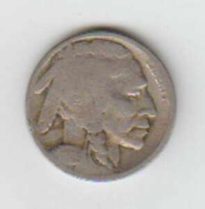 A1040: 1925 Buffalo Nickel, Good