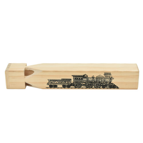 Traditional Toy YJ Makes A Noise Like A Real Train New Wooden Train Whistle