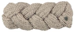 Barts-Muetze-JACKIE-Headband-taupe-Stirnband-beige-Ohrwaermer-handgestrickt-Winter