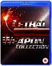 Lethal Weapon Complete Movies 1 2 3 4 Blu Ray Collection [4 Discs] Box Set NEW
