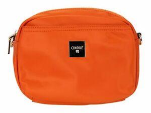 CINQUE-Mio-Crossbag-Umhaengetasche-Abendtasche-Tasche-Orange-Orange-Neu