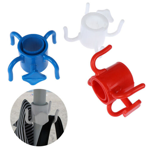 1pc  Plastic 4-prongs Beach Umbrella Hanging Hook For Towel Camera AccessoriesPL