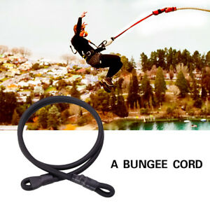 Outdoor Elastic Climbing Rappelling Harness Bungee Jumping Rope Belt ELBL 10mm