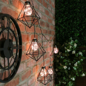 Outdoor String Lights Low Voltage : 25 LED INDOOR OUTDOOR LOW VOLTAGE GARDEN PATIO ICICLE STYLE FAIRY STRING LIGHTS eBay