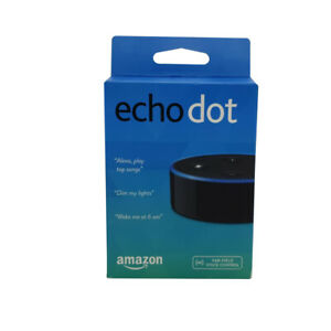 NEW Amazon Echo Dot 2nd Generation With Alexa Voice Media Device White & Black