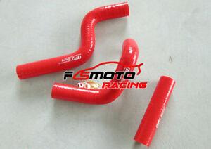 For-Kawasaki-KX80-KX85-KX100-1998-2009-99-01-02-03-04-Silicone-Radiator-Hose-RED