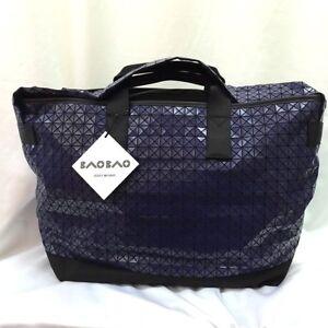 20d7d6578d52 BAO BAO ISSEY MIYAKE Mens Weekender Gloss Blue Sport Shoulder Carry ...
