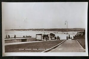 Silver-Strand-from-Arcadia-Portrush-Co-Antrim-Postcard-Northern-Ireland