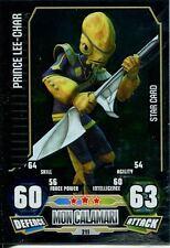 Star Wars Force Attax Series 3 Card #211 Prince Lee-Char