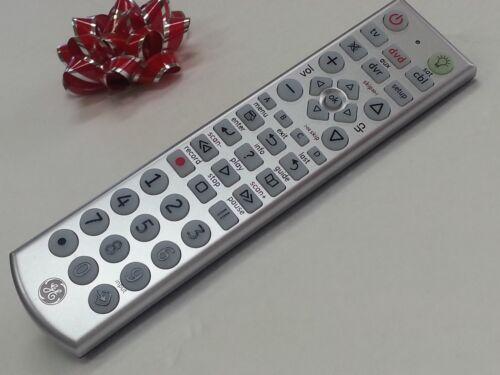 GE Universal TV REMOTE DVR 4 AUDIO//VIDEO Device /<FAST SHIP/>R024 NEW