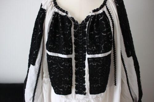 vintage Romanian peasant dress handmade