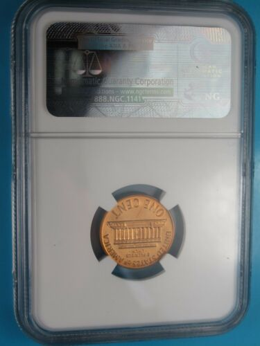 2003 S LINCOLN 1C PROOF NGC PF69 RD ULTRA CAMEO CENT RED LINCOLN PORTRAIT LABEL