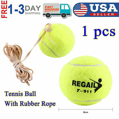 Plinthes de Tennis Rebound Ball Single Tennis Training Tool CaseLover /équipement Autodidacte Robuste d/'Entrainement de Balle pour Entra/înement de Tennis Portable Id/éal pour les D/ébutants en Tennis