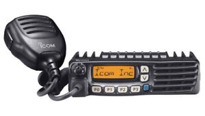 Details about ICOM F6021 UHF 450-512 MHz Two Way Radio with Programming  Software & Cable