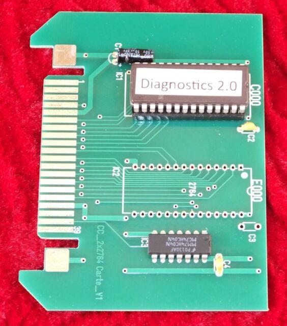 Tandy TRS-80 Color Computer Diagnostics 2.0 Cartridge for Coco 1 2 3