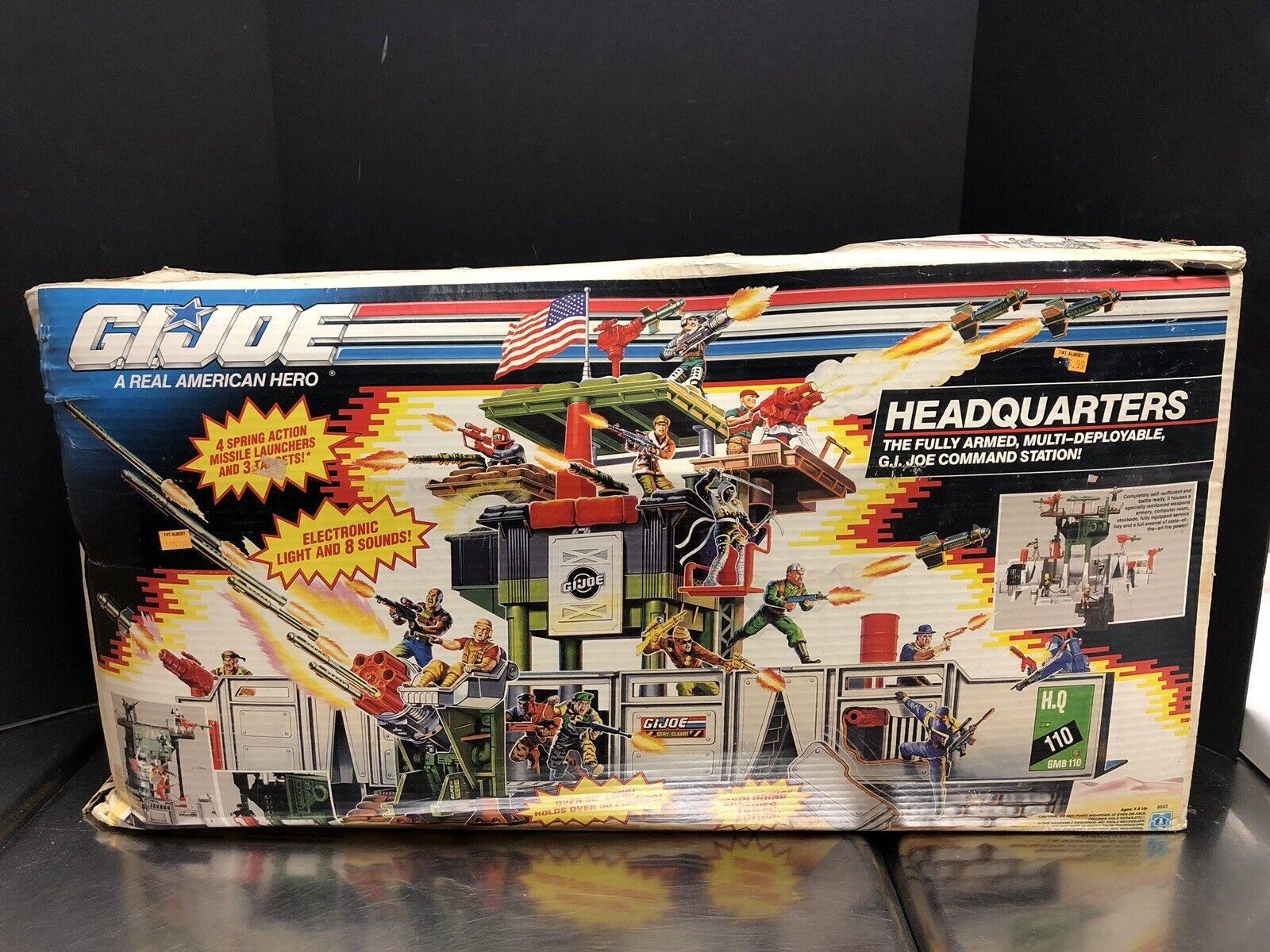 Gi Joe 1991 caja sellada de las oficinas centrales que 0161