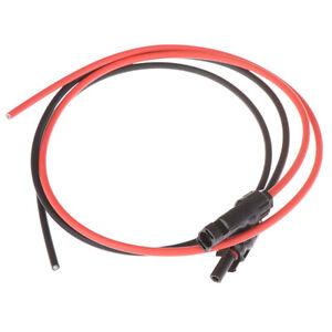 C/âble dextension MC4-2,5 mm de c/âble PV for Panneau Solaire Rouge et Noir Connecteurs MC4 m/âle et Femelle