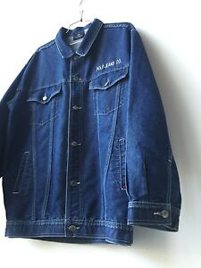 baf8489b0a Vintage 90s Mens POLO JEANS CO Ralph Lauren M L Denim Jean Jacket ...