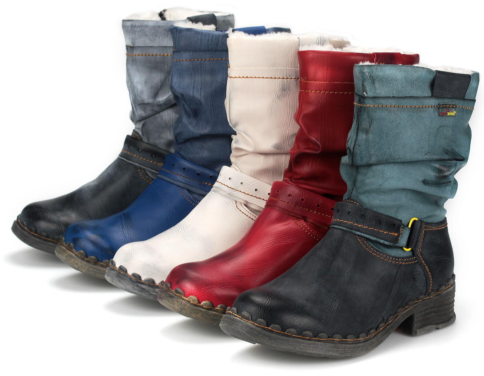TMA Damen Winter Stiefel Stiefel Gefüttert Winterstiefel Damenschuhe Neu 5005