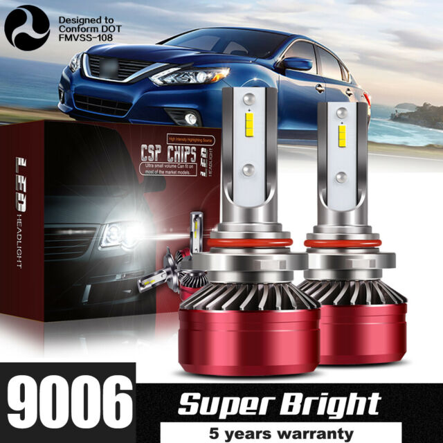 2019 LED Headlight Kit HB4 9006 60W 6000K 12000LM Light Bulb HID Low Beam DWS