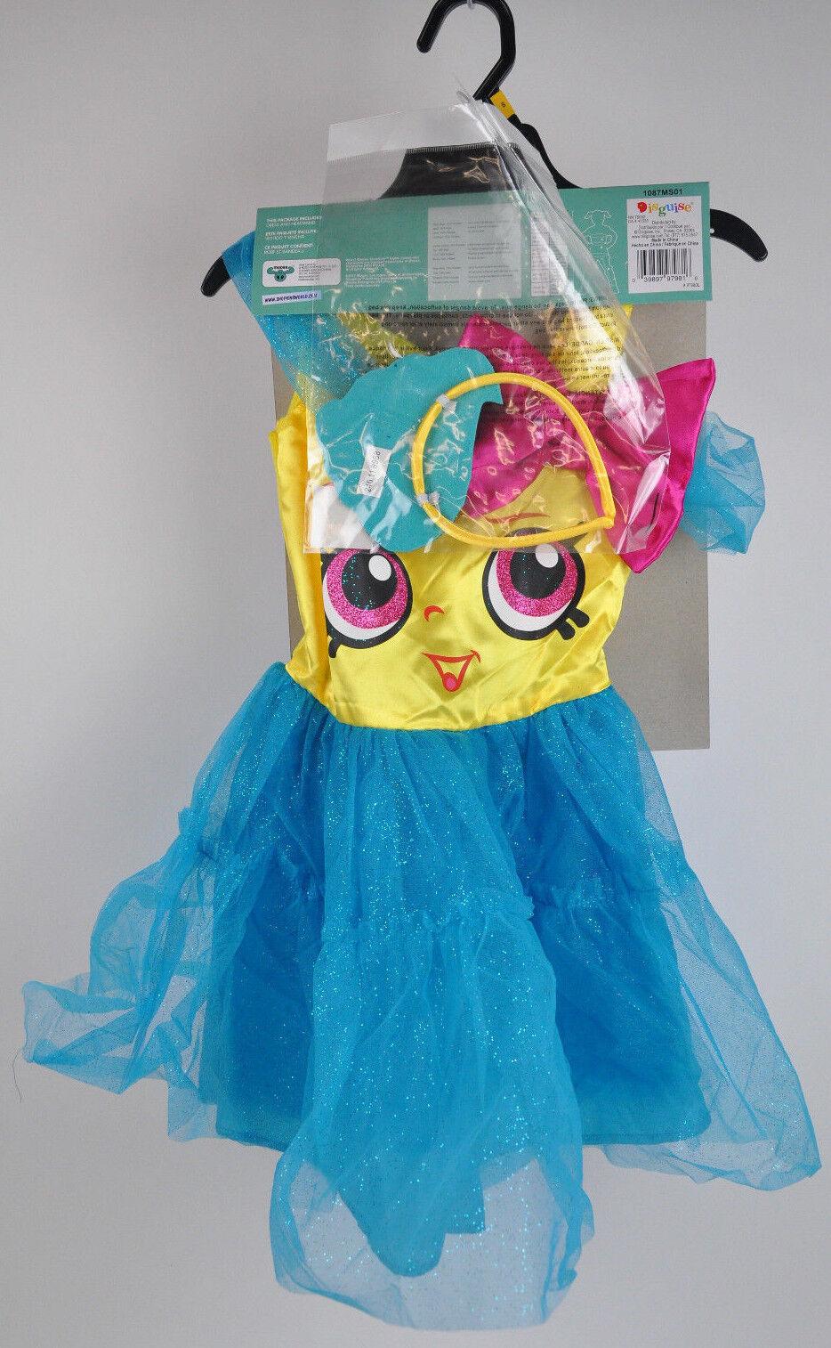 New SHOPKINS Cupcake Queen COSTUME Dress UP Dress SET Headband Headband Headband NWT Sz SMALL 4-6x 5e6880