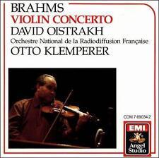 Scarce Brahms: Violin Concerto (CD EMI Angel Studio) Oistrakh, Klemperer No IFPI