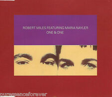 ROBERT MILES ft MARIA NAYLER - One & One (UK 3 Tk CD Single Pt 1)