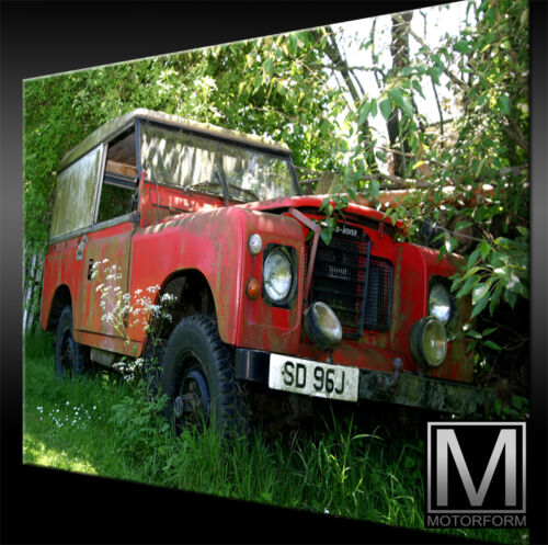 Land Rover Defender Bild Canvas ART Kunstdruck echtes Leinwandbild artwork TOP