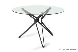 moderner Glastisch rund, couchtisch , loungtisch