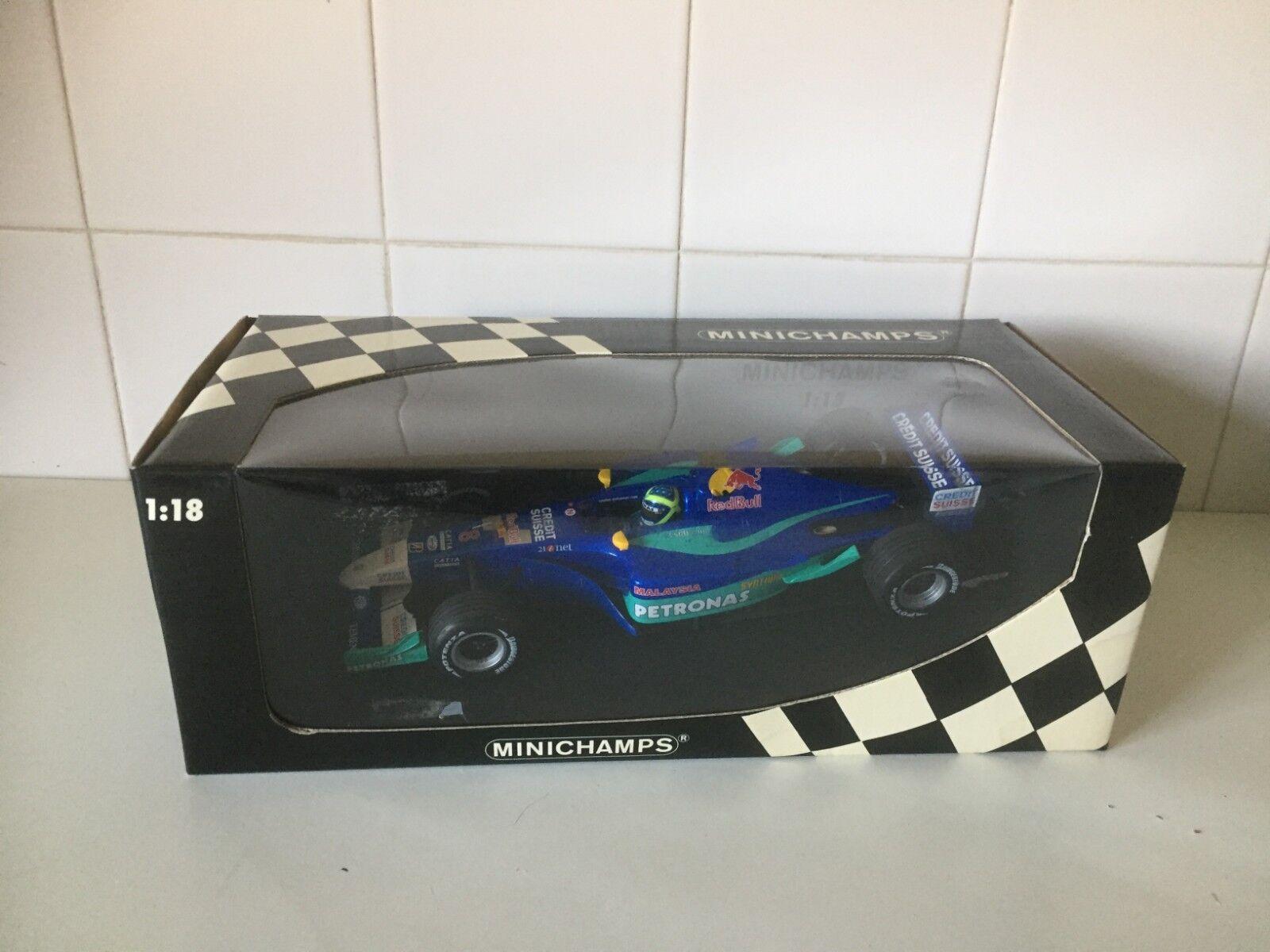 MINICHAMPS F1-Sauber Petronas C21 F. Massa - 1 18 Modèle À L'échelle - 100 020008