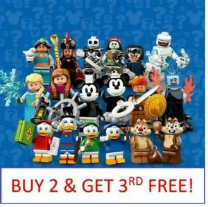 LEGO-MINIFIGURES-DISNEY-71024-PICK-CHOOSE-YOUR-OWN-BUY-2-GET-1-FREE