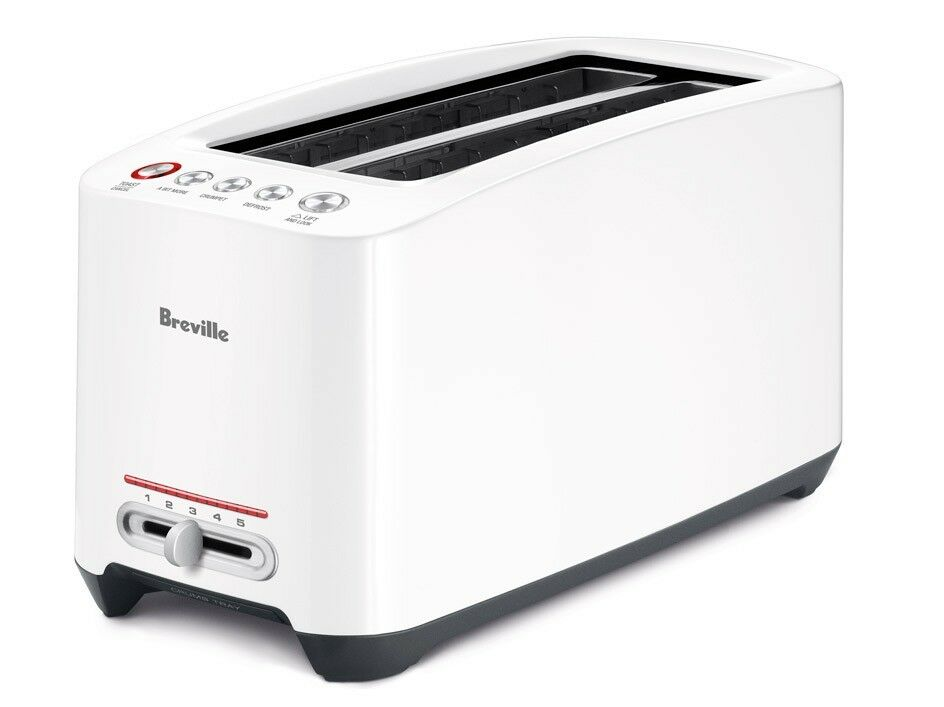 Breville The  LIFT AND Look  Touch Grille-pain Blanc BTA630XL 110 V